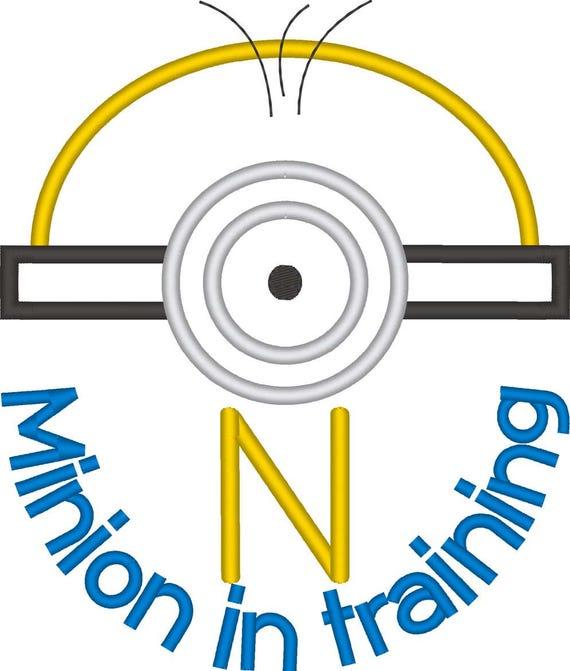 SAMPLE SALE, Minion in Training Inspired Shirt - Minion Birthday Shirt - Banana - Universal Studios Vacation -