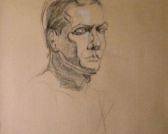 Male Portrait - Figure Drawing