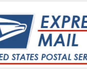 Upgrade USPS EXPRESS MAIL Service