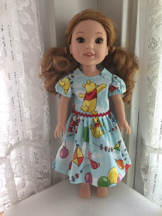 Wellie Wishers Doll Clothes Bumblebee Dress