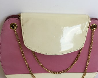Pink and Patent Vintage Lennox Bag