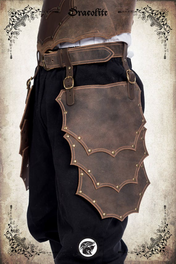 Mercenary - mercenary tassets armor set for LARP, action roleplaying and cosplay