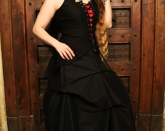 Élodie skirt victorian clothing - Renaissance skirt for prom and wedding, victorian costume and cosplay