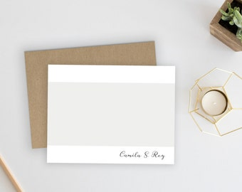 Wedding Thank You Cards. Wedding Thank You Notes. Personalized Stationery. Notecards. Stationary. Note Cards. Personalized. Lavish Stripe.