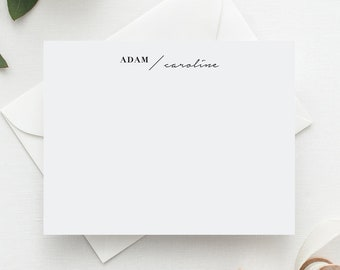 His & Hers Modern Stationery Set