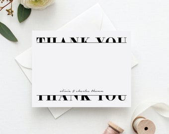 Wedding Thank You Notes. Wedding Thank You Cards. Personalized Stationery. Stationary. Note Cards. Personalized. Stationery. Julienne.