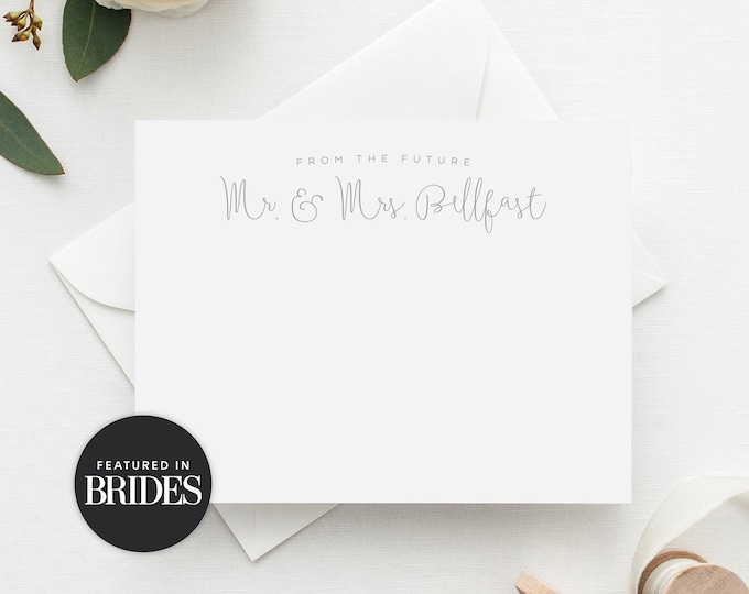 Featured listing image: 'Future Mr. & Mrs.' Personalized Wedding Stationery Set