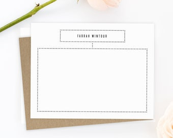 Personalized Stationery. Personalized Stationery Set. Personalized Stationary. Note Cards. Personalized. Stationery. Sophisticated. Elegant.