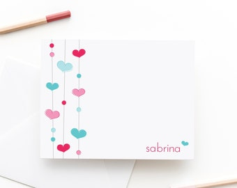 Heartstrings Personalized Stationery Set