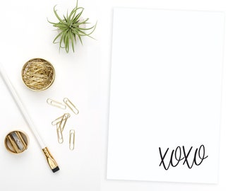 Personalized Notepad. Personalized Note Pad. Personalized Stationery. Stationary. Personalized Gift. Custom. Office. XOXO.