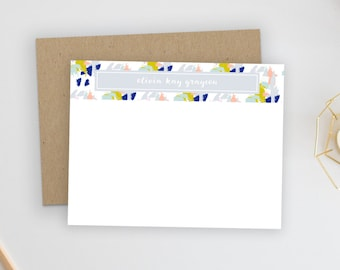 Personalized Stationery. Personalized Notecard Set. Personalized Stationary. Note Cards. Personalized. Stationery. Sets. Stylish Stroke.