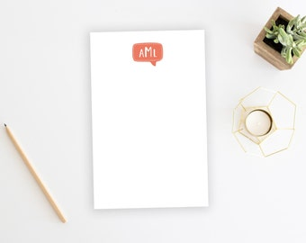 Personalized Notepad. Personalized Note Pad. Family Notepad. Couples. Personalized Stationery. Stationary. Gift. Custom. Office. Bubble.