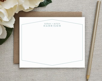 Wedding Thank You Cards | Wedding Thank You Notes | Personalized Stationery | Custom Note Cards | Personalized Thank You Cards | Stationary