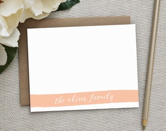 Personalized Stationery. Personalized Notecard Set. Personalized Stationary. Note Cards. Personalized. Stationery. Sets. Note. Chalk Ribbon.