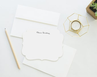 Personalized Stationery. Personalized Notecard Set. Personalized Stationary. Fine Stationery / Die Cut / Note Cards. Stationery. Antique.