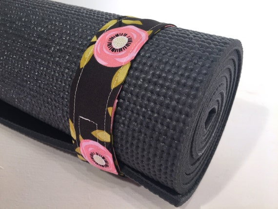 stocking stuffers Yoga Mat Strap yogi gift yoga accessories yoga gifts minimalist yogi yogini gift yoga mat accessories Quilt Fabric