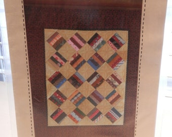 Old Timer miniature quilt pattern