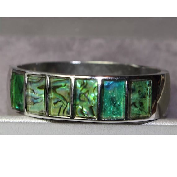 Beautiful Bracelet with Abalone Shell Inlay