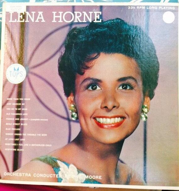 Vintage Lena Horn Orchestra Conducted by Phil Moore Original Vinyl Album - frankie & johnnie- full version