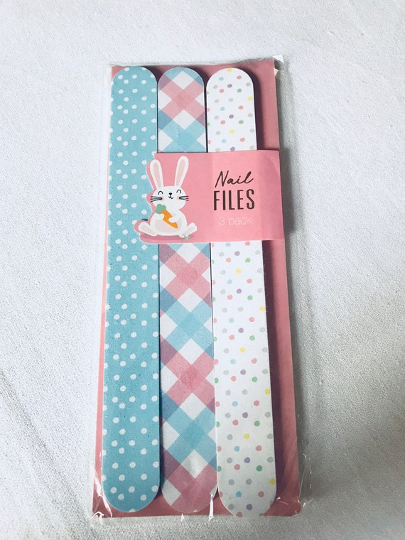 Package of 3 Really Cute Nail Files