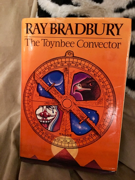 "Vintage Hardcopy ""The Toynbee Convector"" by Ray Bradbury 1988 second printing about time travel"