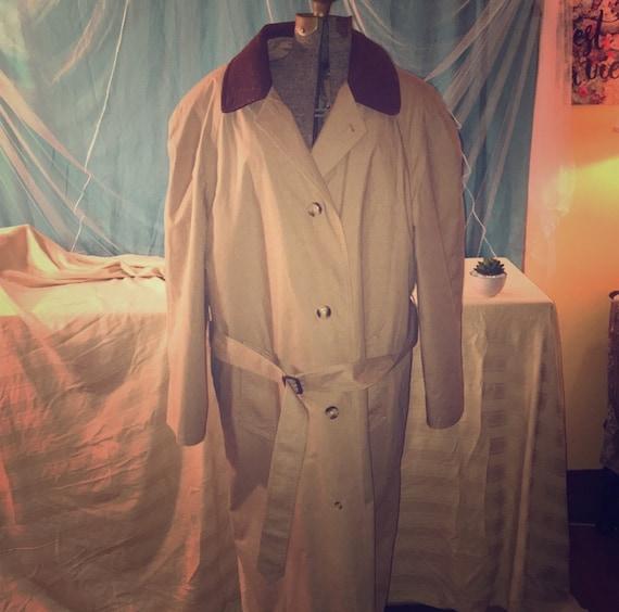GANT Classic Designer Trench Coat, Super Cool Bladerunner Vintage Fashion Statement! good investment wardrobe piece!