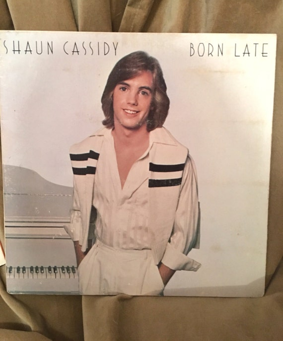 My own tween idol Shaun Cassidy Born late vinyl LP album complete with song reviews