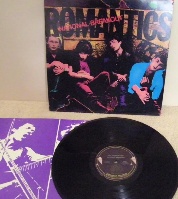 "The Romantics National Breakout 12"" LP New Wave Music Vinyl Record"