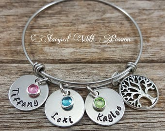 Kids Name Bracelet Etsy