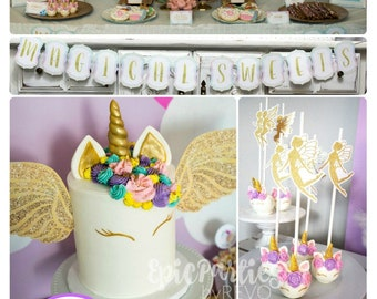 Unicorn Birthday Party | Unicorn Party Printable | Unicorn Decorations | Unicorn Party | Unicorn Birthday Decorations | Epic Parties by REVO