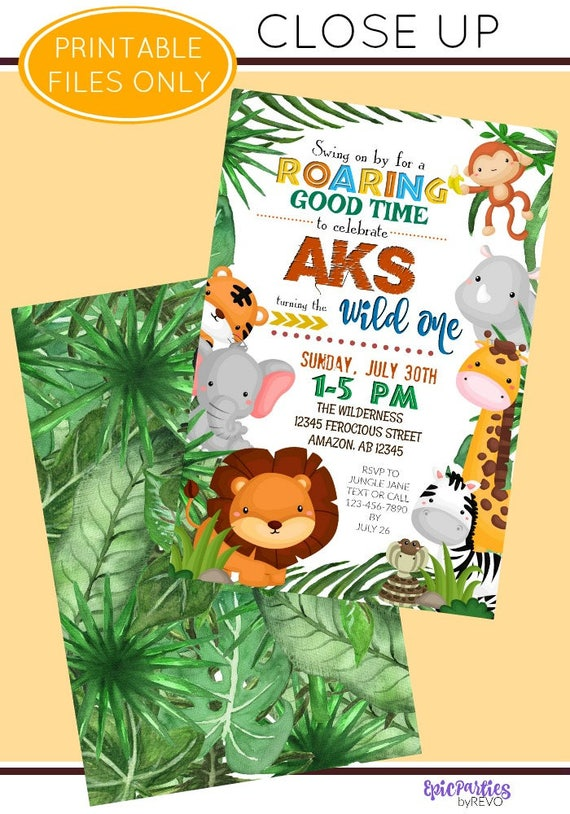 456 best images about cubicle and office decor on.htm jungle birthday invitation jungle printable invitation etsy  jungle birthday invitation jungle