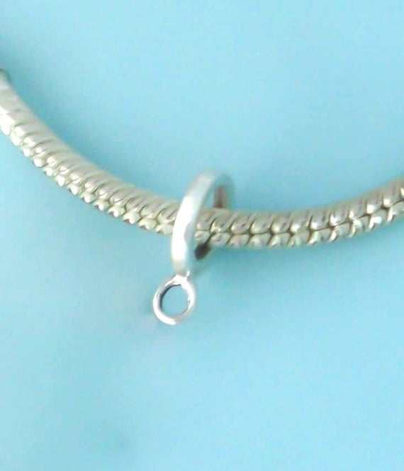Sterling Silver 3D Small Seahorse Charm
