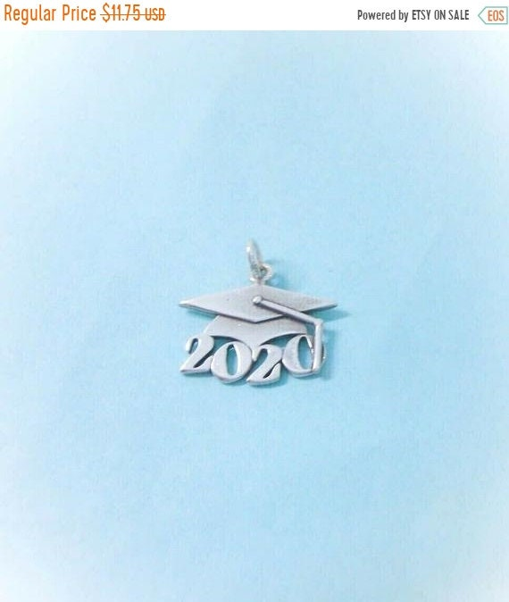 Usd Graduation 2020.1 Sterling Silver 2020 Graduation Cap Charm Pendant Made In Usa
