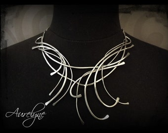 """Stainless Necklace Arcane """"The Fool"""" or """"The Magician"""" mystical dreamlike fairy elven"""