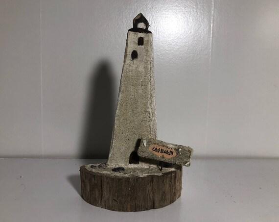 """Bald Head Island Lighthouse """"Old Baldy"""""""