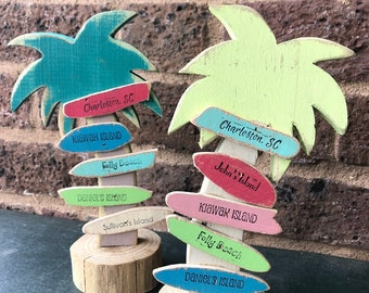 Palmetto Tree City Sign (5 signs)