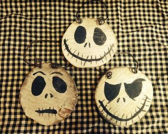 Jack Skellington Nightmare Before Christmas Ornament set of three