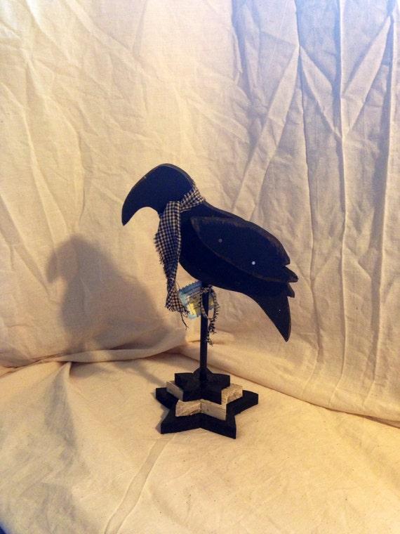 Primitive Crow on a Star Base