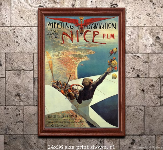 Vintage Poster Fine Art Print New York TWA #2