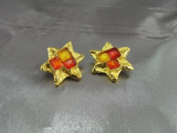 CHRISTIAN LACROIX Vintage Earrings, Christian Lac… - image 1