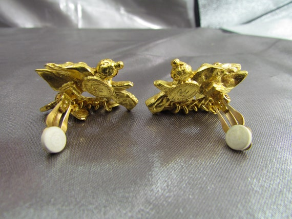 CHRISTIAN LACROIX Vintage Earrings, Christian Lac… - image 8