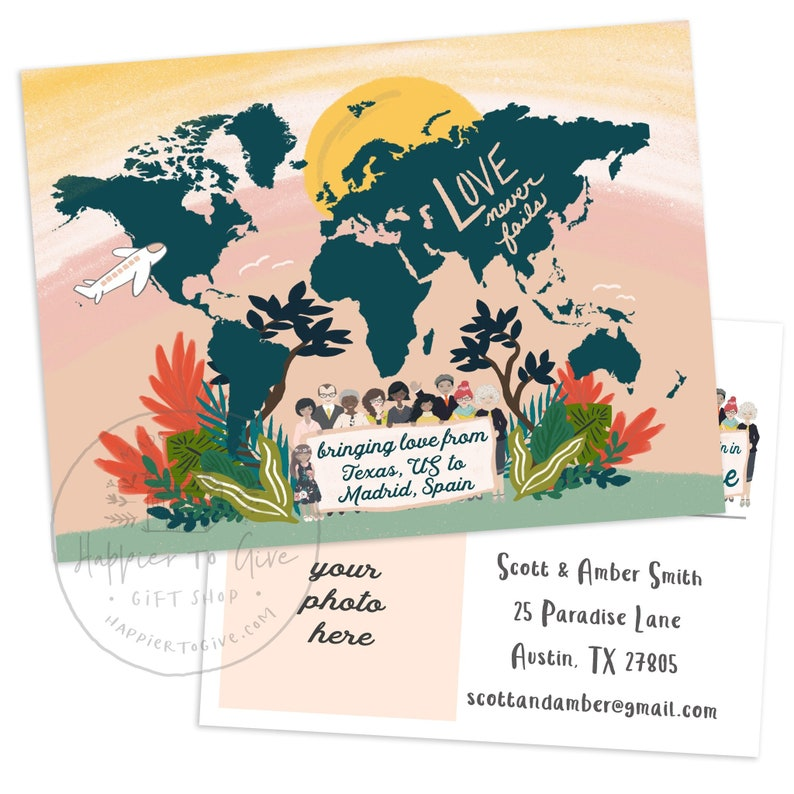 Love Never Fails - International Convention Postcards - Personalized - JW  2019 International Convention Gifts