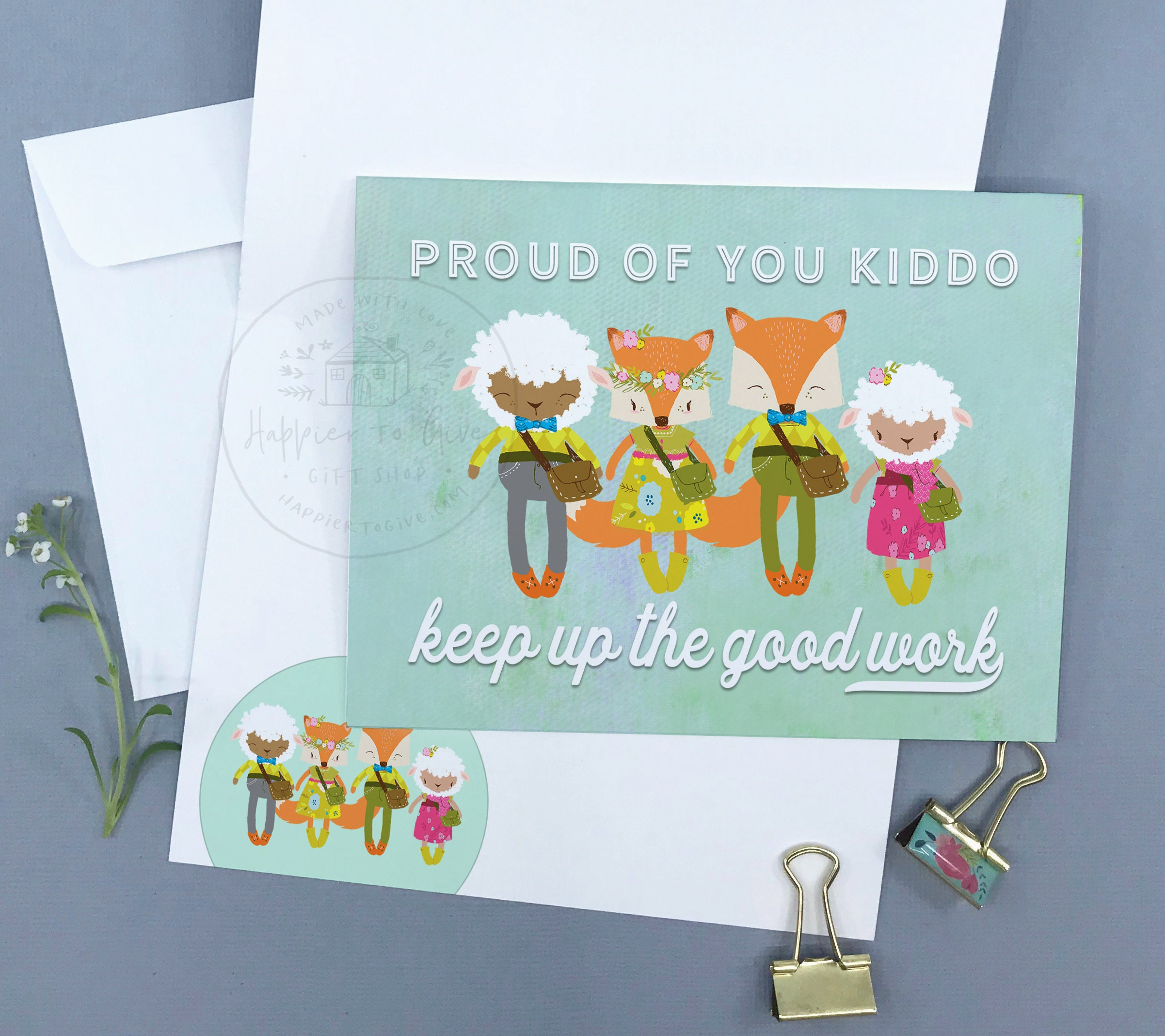 Proud Of You Kiddo Jw Greeting Cards Jw Cards Jw Pioneer Etsy