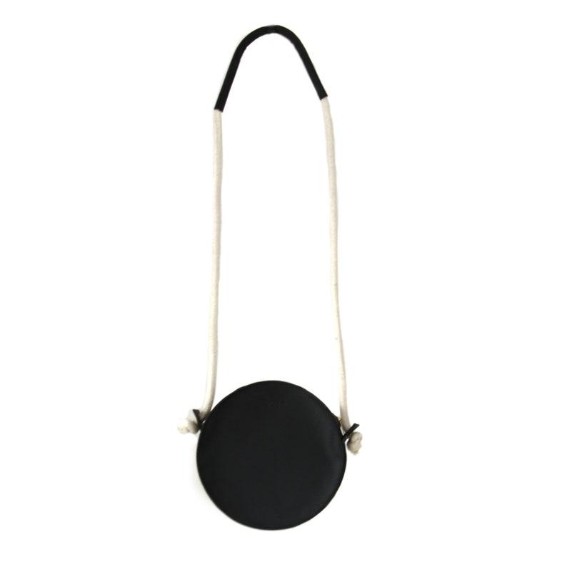 PURSE BULAT round leather shoulder bag image 0