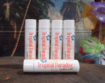Tropical Paradise Lip Balm w/SPF