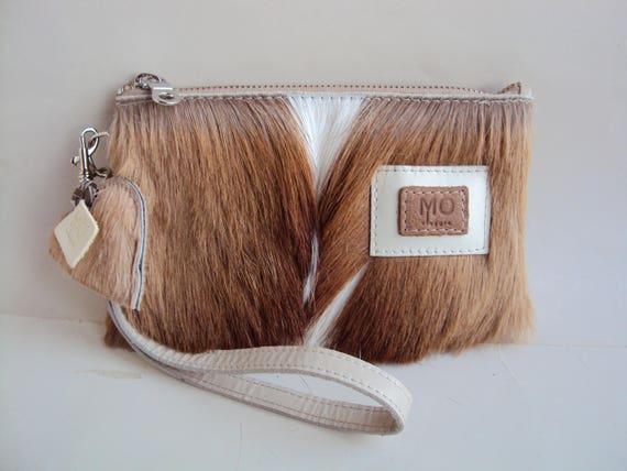 Kupplung/Tasche/Ledertasche mit Fell für Mobile Pässe Geld | Etsy