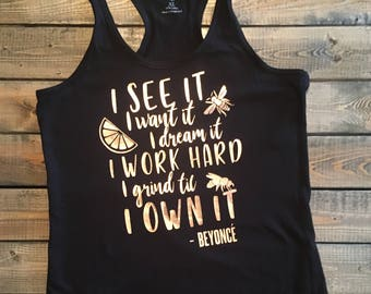 Beyonce quote etsy beyonce shirt beyonce lemonade beyonce quote queen bee shirt queen bey summer tanks cute tank tops beyonce beyonce formation stopboris Image collections