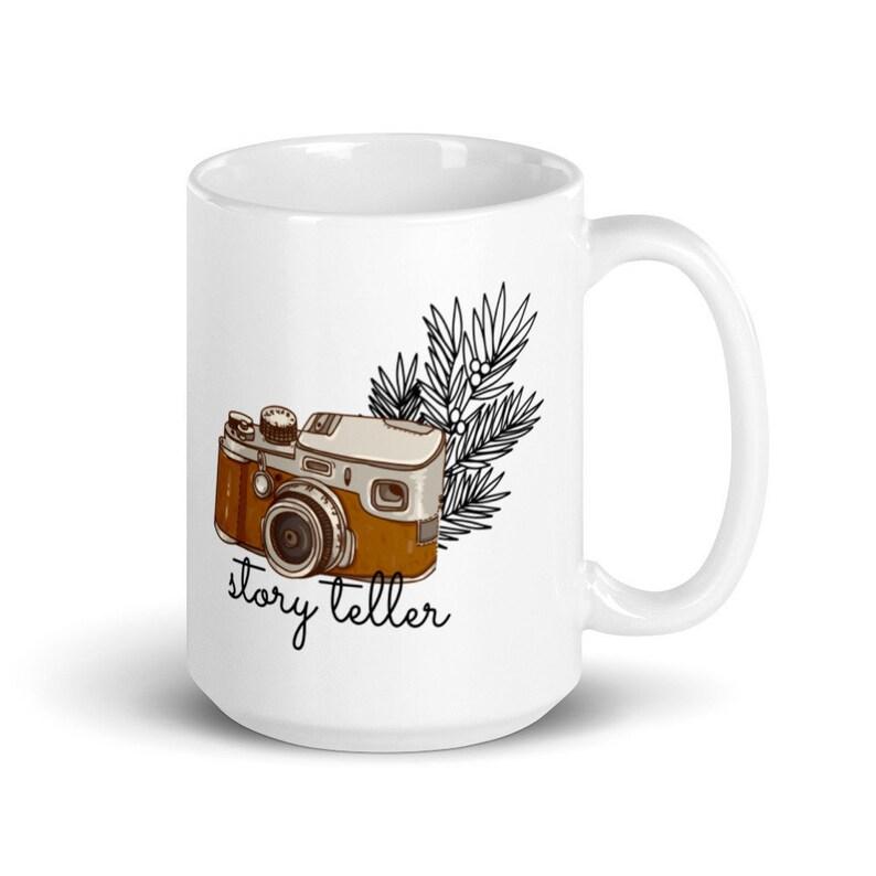 Story Teller Mug Photographer Gift for her image 0