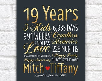 Married In 1992 Sign Etsy