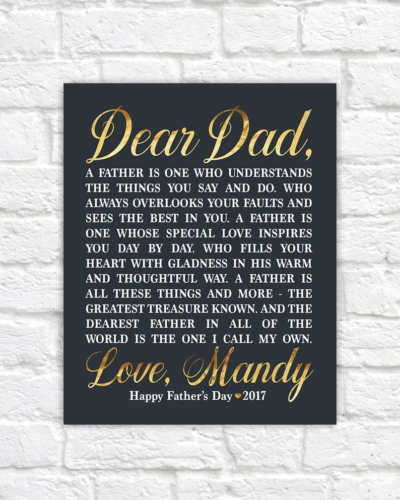 0d9c299f7001 Personalized Father s Day Gift for Dad